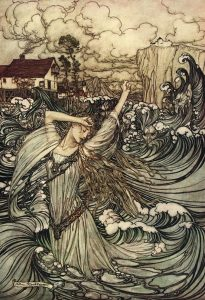 Undine - Lost in the Danube - Rackham - 1909